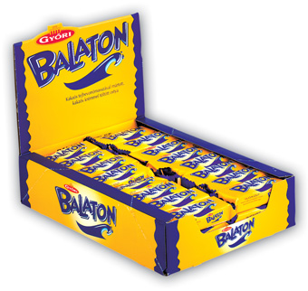 "Balaton,""Tej"" Milk chocolate coated wafer, 30g - 48/box"