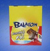 "Balaton,""Et"" Dark chocolate coated wafer, 30g - 48/box"