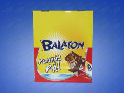 "Balaton,""Et"" Dark chocolate coated wafer, 30g - 48/box"