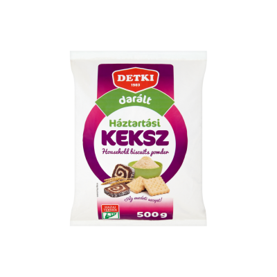 "Detki,""Daralt keksz"" Grated biscuit powder, 500g - 20/box"