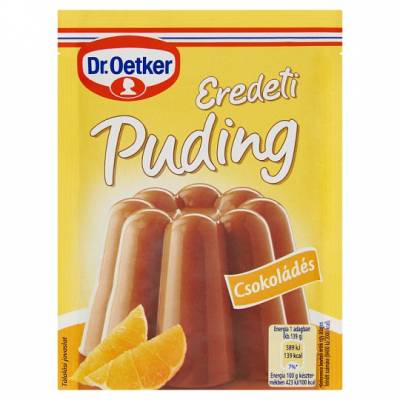 "DR Oetker, ""Csokolades"" Chocolate custard powder, 2x40g - 15/box"
