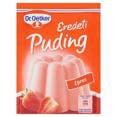 "DR Oetker, ""Epres"" Strawberry custard powder, 2x40g - 15/box"