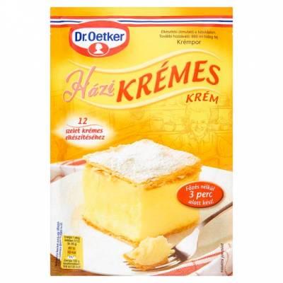 "Dr Oetker, ""Kremespor"" Vanilla cream cake filling, 230g - 20/box"