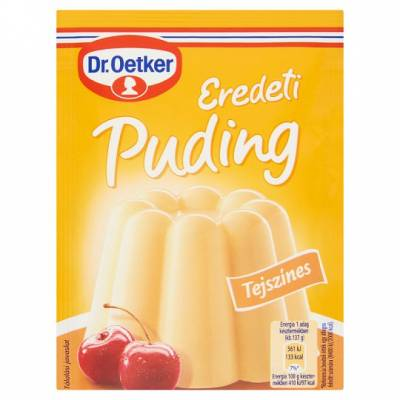 "DR Oetker, ""Tejszinizu"" Fresh Cream custard powder, 2x40g - 15/box"