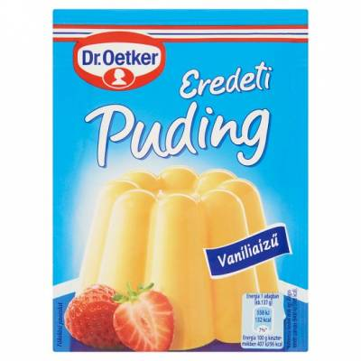 "DR Oetker, ""Vanilla"" custard powder, 2x40g - 15/box"