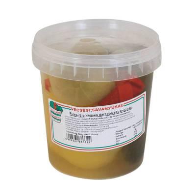 "Vecsesi Fules ""Darabos Vegyes"" vegetable Mix, MILD, 500g - 850g - 14/box"