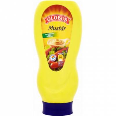 Globus, Mustard, 440g - 12/box