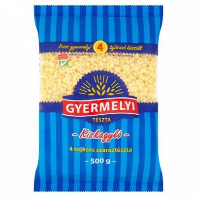 """Gyermelyi """"Kiskagylo"""" Small Shell pasta, 500g - 24/box"""