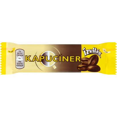 Kapuciner, Coffee chocolate bar, 31g - 60/box