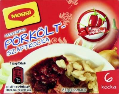 "Maggi,""Porkolt""hungarian stew stockcube, 60g - 20/box"