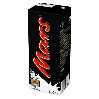 Mars drink, 180ml - 27/box