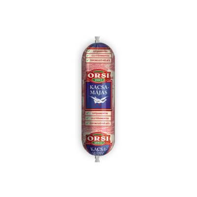 "Orsi ""Kacsamajas"" duck liver pate, 125g - 10/box"