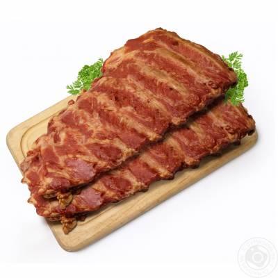 """Smoked """"Oldalas"""" pork rib, 500g vacuum, 1kg price"""