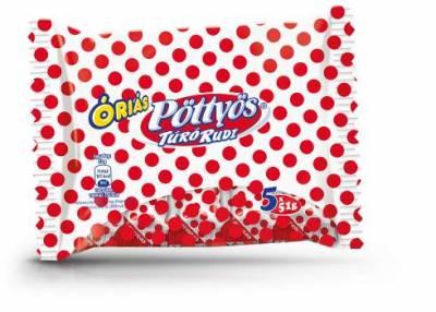 "Pottyos Rudi,""Orias Natur""milk dessert, 5x51g - 17/box"