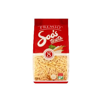 "Soos Premio,""csiga"" Soup pasta, 8 eggs, 200g - 28/box"