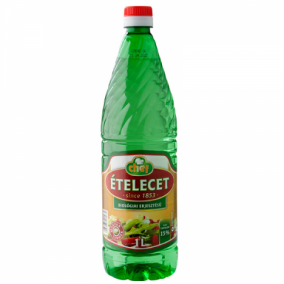 "Chef ""Etelecet"" Vinegar 15%, 1l - 6/box"