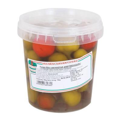 "Vecsesi Fules ""Cseresznye"" Cherry pepper, hot, 300g - 500g - 14/box"
