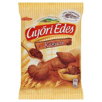"Gyori edes ""kakaos"" cocoa honey biscuit, 180g - 21/box"
