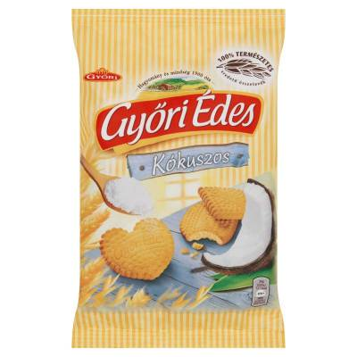 Gyori edes coconut honey biscuit, 180g - 21/box