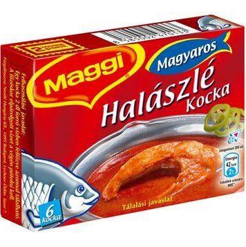 "Maggi,""halaszle""Fish soup stock cube,60g - 20/box"