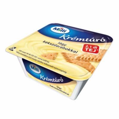 "Mia ""Kremturo"" Cottage cheese dessert, ""kekszes"", 90g - 15/box"