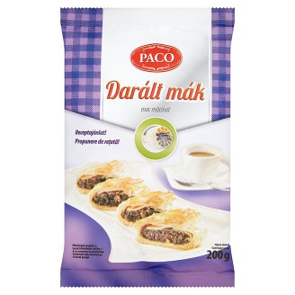 "Paco ""Daralt mak"" Poppy seed grated, 200g - 20/box"