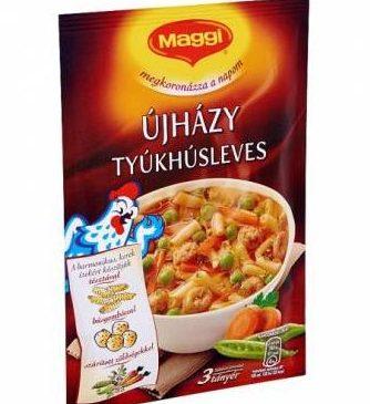 "Maggi ""Ujhazi"" chicken soup powder, 65g - 20/box"