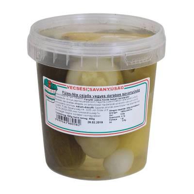 "Vecsesi Fules ""Darabos Vegyes"" vegetable mix, spicy, 400g - 850g - 14/box"